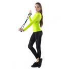 Легинсы женские спортивные компрессионные арт.275F16 цвет чёрный, рост 168, р-р 46 (M)