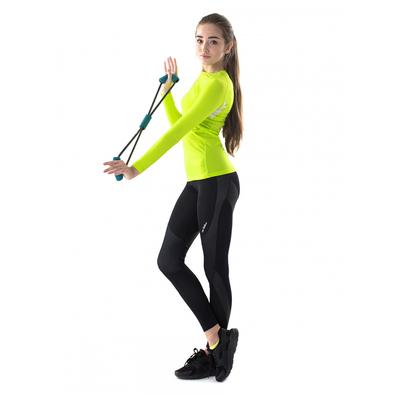 Легинсы женские спортивные компрессионные арт.275F16 цвет чёрный, рост 168, р-р 52 (XXL)