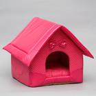 """Домик """"Нежность"""", 35 х 37 х 42 см, розовый"""