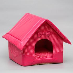 Домик 'Нежность', 35 х 37 х 42 см, розовый Ош