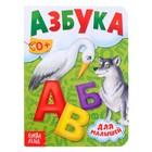 Книга картонная «Азбука», 10 стр. - фото 106547847