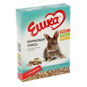 Кормовая смесь «Ешка» для декоративных кроликов, с арахисом, 450 г Ош