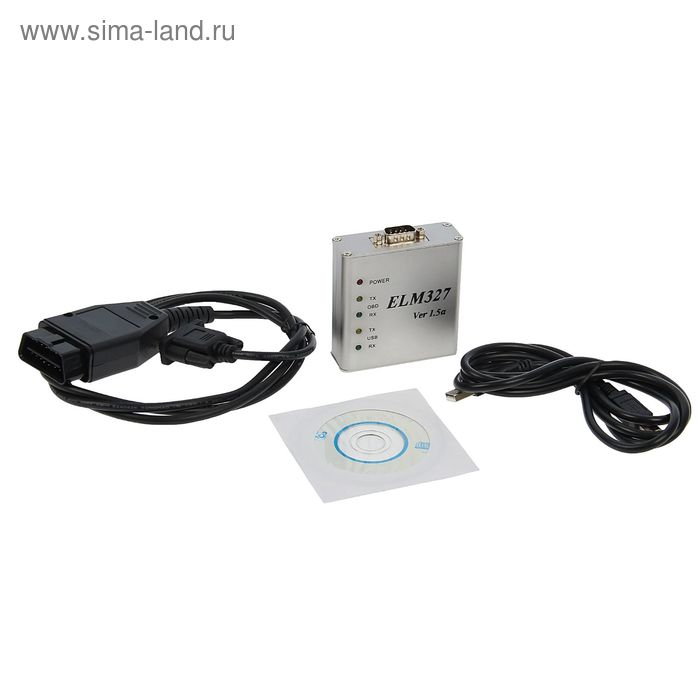 Автомобильный сканер PRO, OBD2, USB (1674986) - Купить по