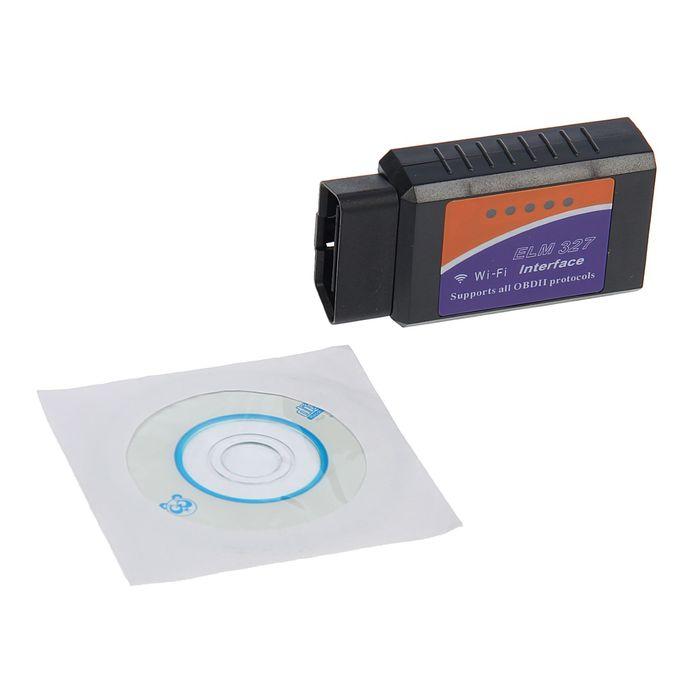 Универсальный автомобильный сканер OBD2, Wi-Fi