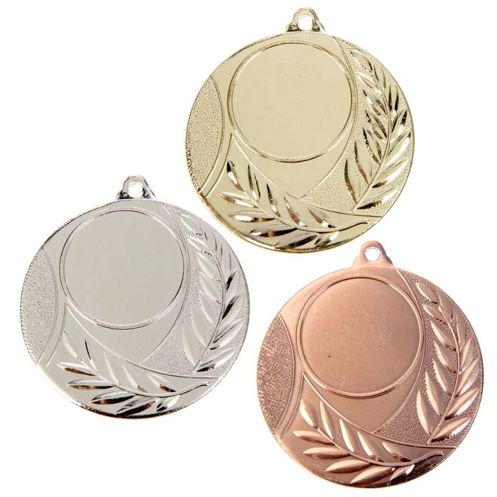Медаль под нанесение 046 серебро