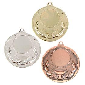 Медаль под нанесение 051 золото Ош