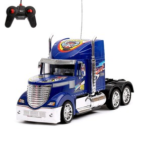 """Truck radio-controlled """"Truck"""", runs on batteries, MIX colors"""