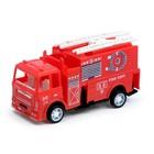 Машина инерционная «Пожарная служба», МИКС - фото 76293090