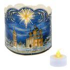 Подсвечник «Храм» со светодиодной свечой