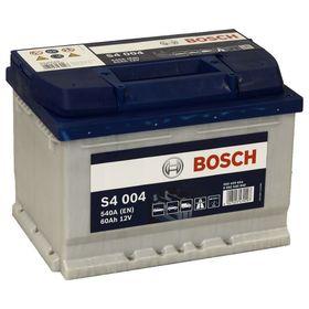 Аккумуляторная батарея Bosch 60 Ач, обратная полярность S4 560 409 054