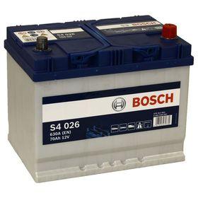 Аккумуляторная батарея Bosch 70 Ач, обратная полярность S4 570 412 063
