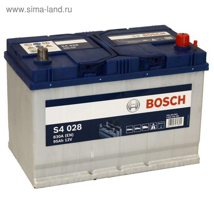 Аккумуляторная батарея Bosch 95 Ач, обратная полярность S4 595 404 083