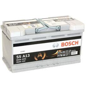 Аккумуляторная батарея Bosch 95 Ач, обратная полярность S5 AGM 595 901 085