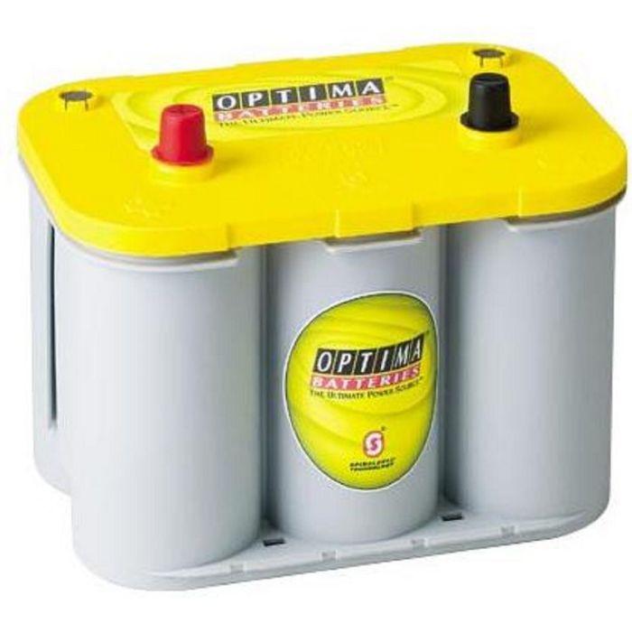 Аккумуляторная батарея Optima 55 Ач б/кл YellowTop YT U 4,2