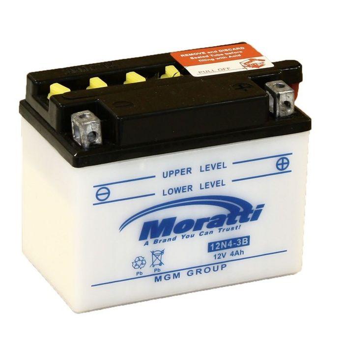 Аккумуляторная батарея Moratti 4 Ач 12N4-3B