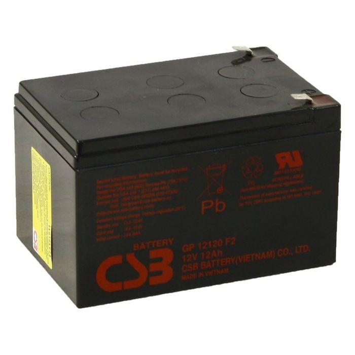 Аккумуляторная батарея CSB 12 Ач 12 Вольт GP 12120