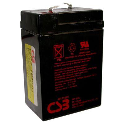 Аккумуляторная батарея CSB 4.5 Ач 6 Вольт GP 645