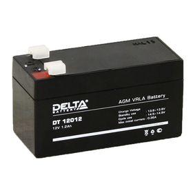 Аккумуляторная батарея Delta 1,2 Ач 12 Вольт DT 12012 Ош