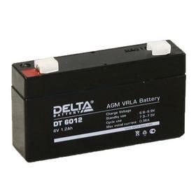 Аккумуляторная батарея Delta 1,2 Ач 6 Вольт DT 6012 Ош