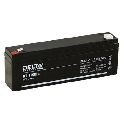 Аккумуляторная батарея Delta 2,2 Ач 12 Вольт DT 12022