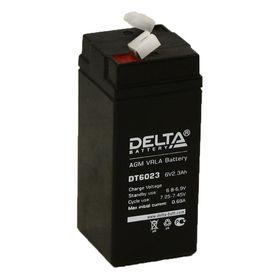 Аккумуляторная батарея Delta 2,3 Ач 6 Вольт DT 6023 Ош