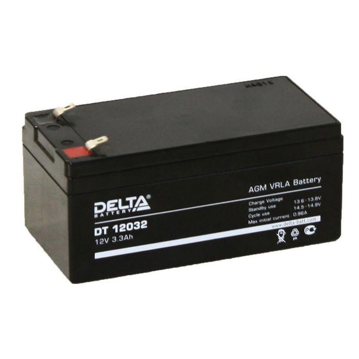 Аккумуляторная батарея Delta 3,3 Ач 12 Вольт DT 12032