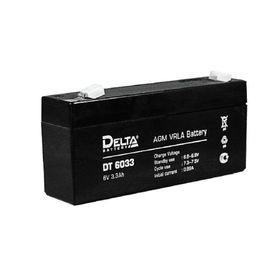 Аккумуляторная батарея Delta 3,3 Ач 6 Вольт DT 6033 Ош