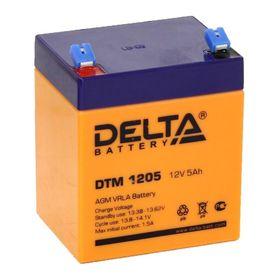 Аккумуляторная батарея Delta 5 Ач 12 Вольт DTM 1205