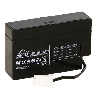 Аккумуляторная батарея Leoch 0,8 Ач 12 Вольт DJW 12-0,8