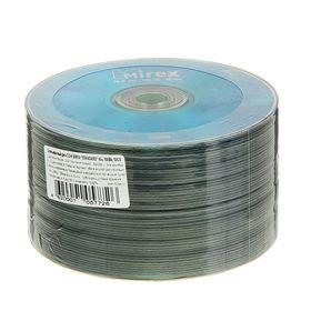 Диск CD-R Mirex Standard, 48x, 700 Мб, спайка, 50 шт