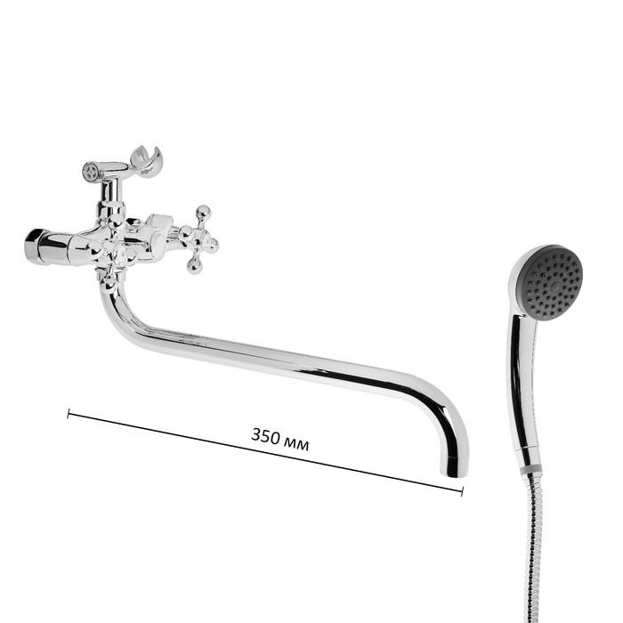Смеситель для душа Haiba HB2619-2, с керамическим переключателем на душ, хром
