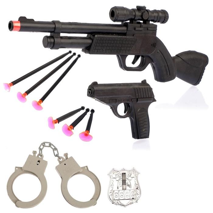 Набор полицейского «Снайпер», 10 предметов