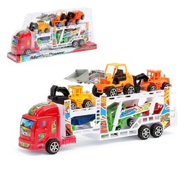"""Truck inertia """"Truck"""", with 6 machines, MIX colors"""