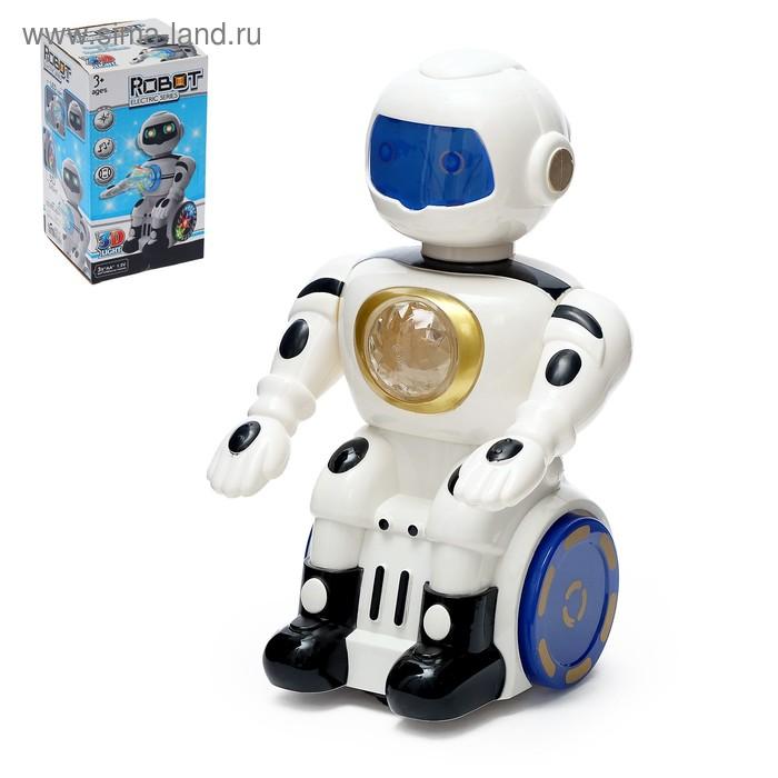 """Робот """"Сигвейбот"""", ездит, световые и звуковые эффекты"""