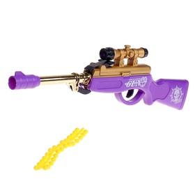Ружье пневматическое «Снайпер», стреляет силиконовыми пулями, цвета МИКС
