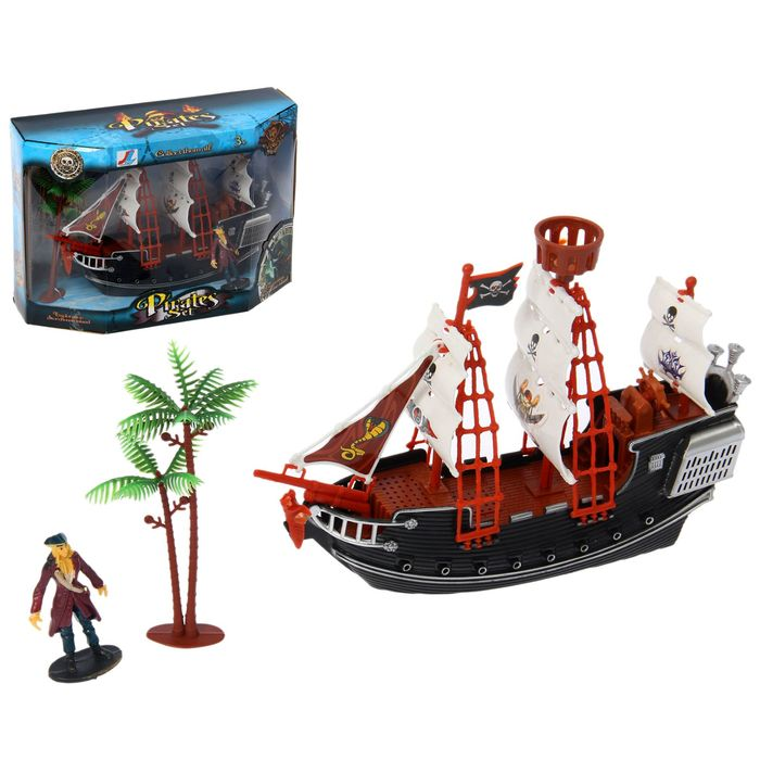 """Набор пиратов """"Корабль у острова"""""""