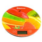 "Весы кухонные Sakura SA-6076F, 8 кг, электронные, ""фрукты"""