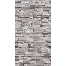 Панель ПВХ Дикий камень светлый 2,7х0,25