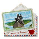 Магнит в форме конверта «Башкирия»