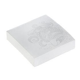 Блок для записей, антистресс, 8.5 х 8.5 см, 200 листов