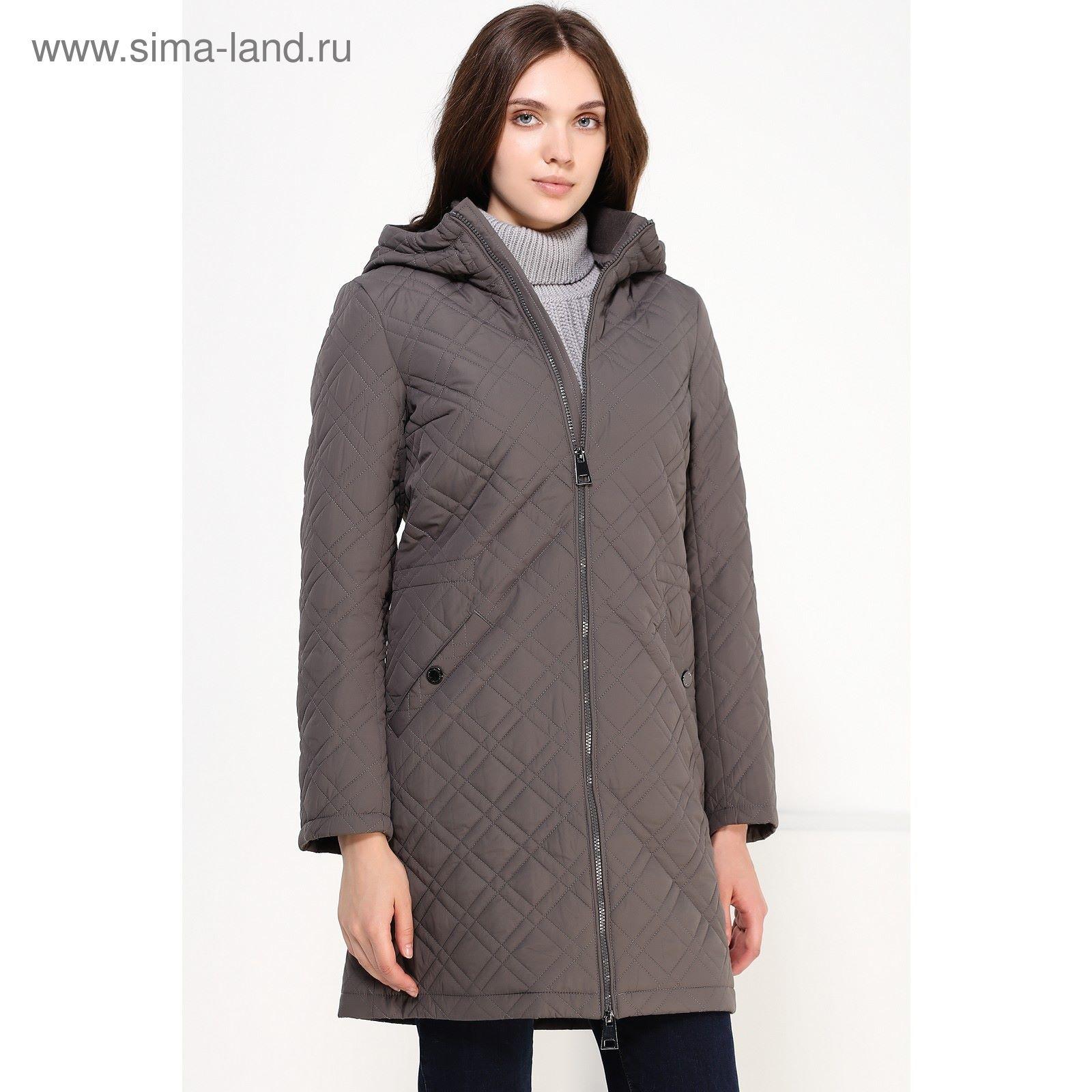 Пальто женское, цвет тёмно-серый, размер M A16-170000 826 (1729861 ... ac627d54f2d