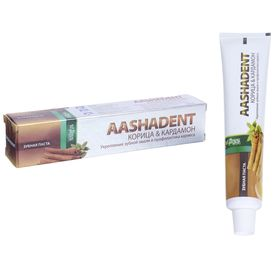 "Зубная паста Aasha Herbals, ""Корица - кардамон, 100 г"