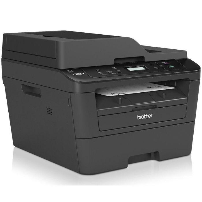 МФУ, лазерная черно-белая печать Brother MFC-L2720DWR, А4, Duplex, WiFi