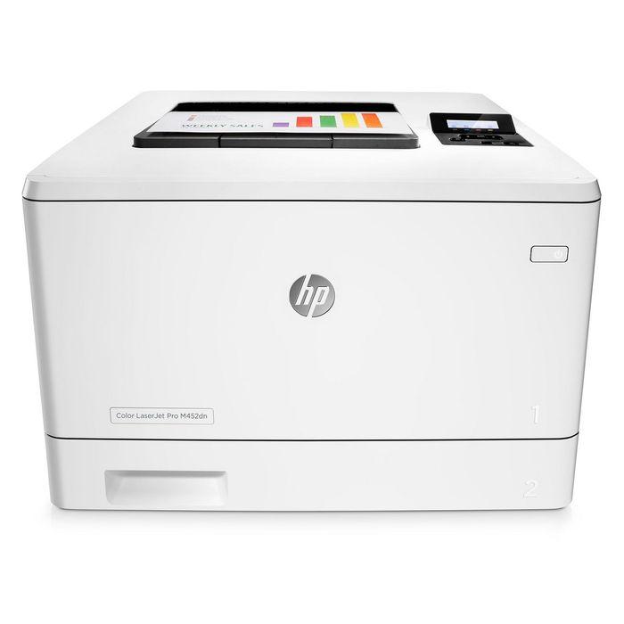 Принтер лазерный цветной HP Color LaserJet Pro M452dn (CF389A), А4, Duplex, LAN