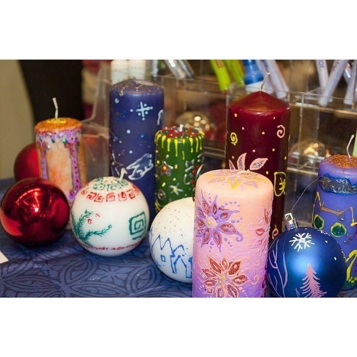 Маркер восковой для декора свечей Marvy 111 3 синий