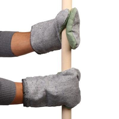 Mittens the insulated, diagonal, PDA tarpaulin OP 420 g, insulation batting