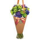 Конверт–конус для цветов «Только для тебя!», 8 × 26,5 см