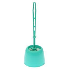 Ёрш для унитаза с подставкой «Эвия», цвет МИКС
