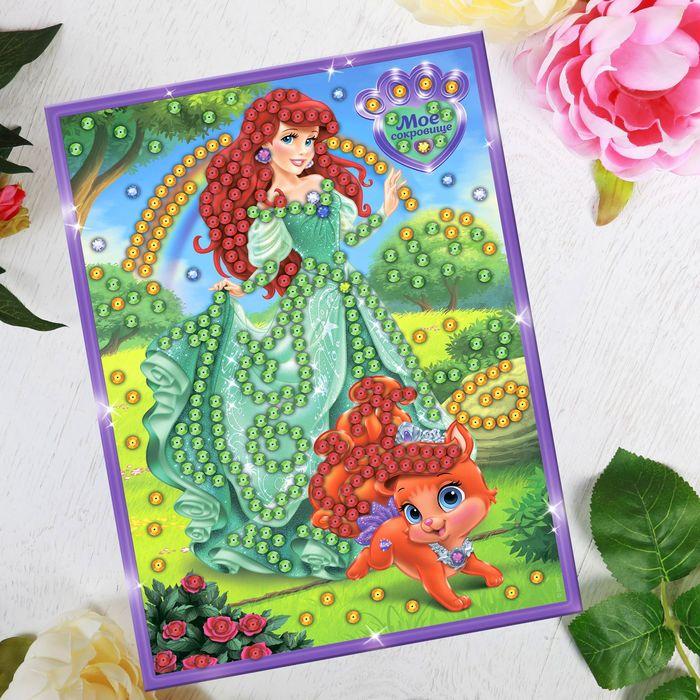 Аппликация ''Мое сокровище'' Принцессы стразами и пайетками 1475152