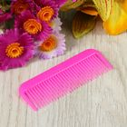 Расчёска-гребень, цвет розовый
